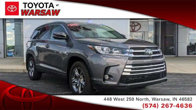 2019 Toyota Highlander Limited Platinum Warsaw IN