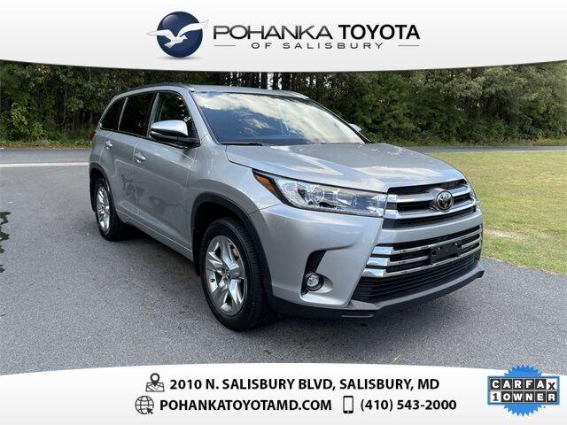 2019 Toyota Highlander Limited Salisbury MD