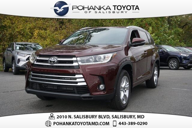 2019 Toyota Highlander Limited Salisbury MD