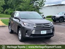 2019 Toyota Highlander Limited South Burlington VT