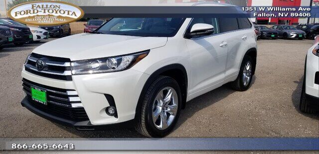 2019 Toyota Highlander Limited V6 Fallon NV