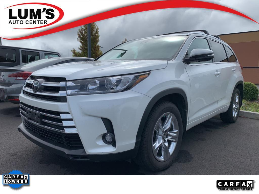 2019 Toyota Highlander Limited Warrenton OR