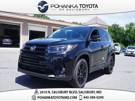 2019_Toyota_Highlander_SE_ Salisbury MD