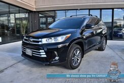 2019_Toyota_Highlander_XLE / AWD / Heated Leather Seats / Navigation / Sunroof / Lane Departure & Collision Alert / Blind Spot Alert / Bluetooth / Back Up Camera / 3rd Row / Seats 8 / Power Liftgate / Keyless Entry & Start / 26 MPG_ Anchorage AK