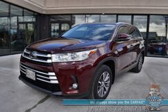 2019_Toyota_Highlander_XLE / AWD / Power & Heated Leather Seats / Sunroof / Navigation / Blind Spot Alert / Keyless Entry & Start / 3rd Row / Seats 8 / 26 MPG / 1-Owner_ Anchorage AK