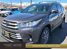 2019_Toyota_Highlander_XLE_ Bishop CA