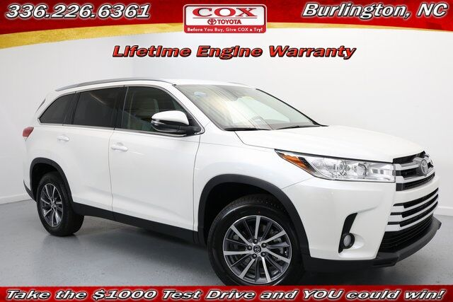 2019 Toyota Highlander XLE Burlington NC