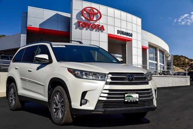 2019 Toyota Highlander XLE Durango CO