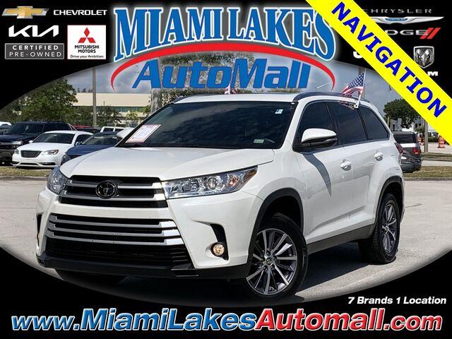 2019 Toyota Highlander XLE Miami Lakes FL