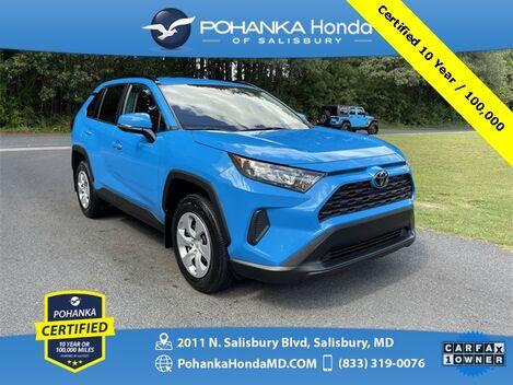 2019_Toyota_RAV4_LE ** Pohanka Certified 10 Year / 100,000 **_ Salisbury MD