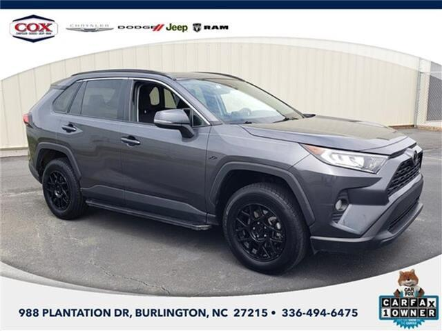 2019 Toyota RAV4 XLE All-wheel Drive Burlington NC