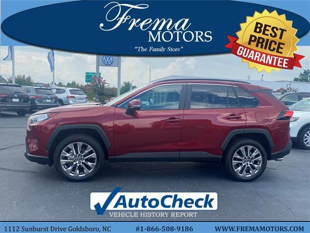 2019 Toyota RAV4 XLE Premium All-wheel Drive Goldsboro NC