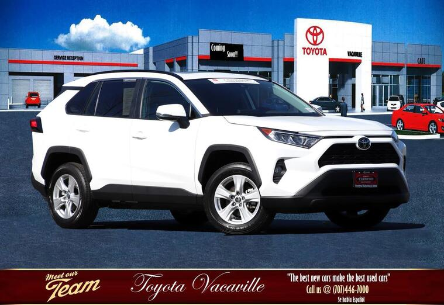 2019 Toyota Rav4 Xle Sport Utility Vacaville CA