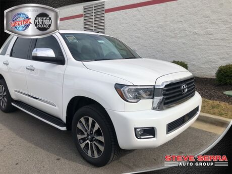 2019 Toyota Sequoia LTD 8PASS 5.7L Decatur AL
