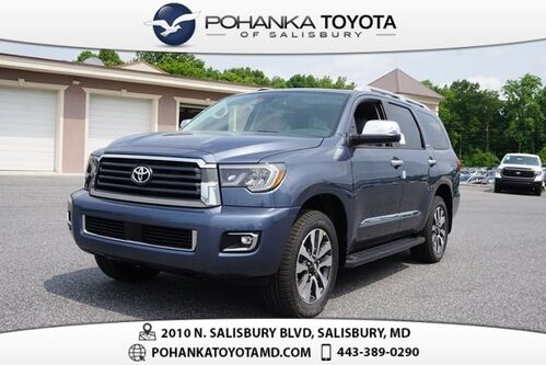 2019_Toyota_Sequoia_Limited_ Salisbury MD