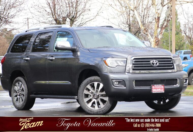 2019 Toyota Sequoia Limited Vacaville CA