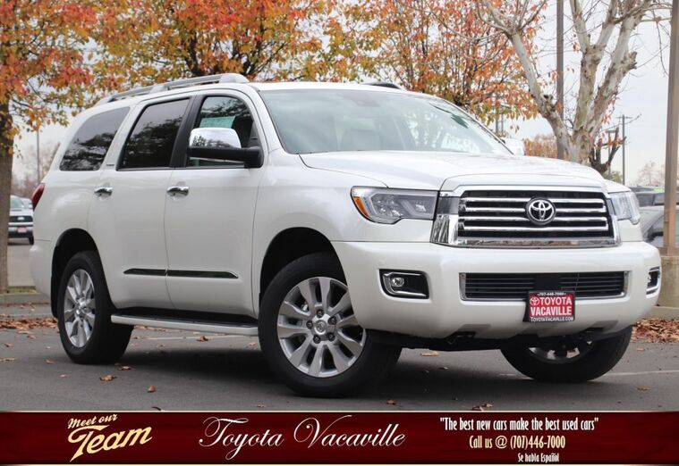 2018 Toyota Sequoia: Refreshed, Changes, TRD Sport, Price >> New Toyota Sequoia Vacaville Ca