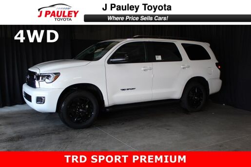 2019_Toyota_Sequoia_TRD Sport Includes $750 GST DVD Rebate!_ Fort Smith AR