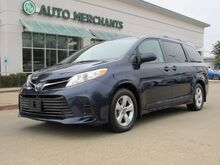 2019_Toyota_Sienna_LE 8-Passenger BACK-UP CAMERA, 8 PASSENGER, HARD TOP, AM/FM/CD, CD IN DASH, POWER LOCKS, CLOTH SEATS_ Plano TX