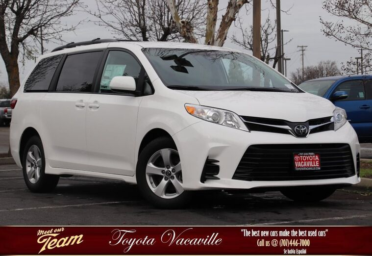 2019 Toyota Sienna LE Vacaville CA