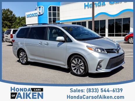 2019_Toyota_Sienna_Limited Premium_ Aiken SC