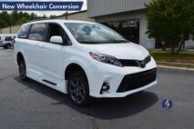 2019 Toyota Sienna SE-NAV New Wheelchair Conversion Conyers GA