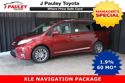 2019_Toyota_Sienna_XLE_ Fort Smith AR
