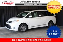 Toyota Sienna XLE Includes $750 GST DVD Rebate! 2019