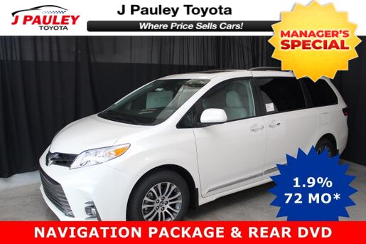 2019_Toyota_Sienna_XLE Includes $750 GST DVD Rebate!_ Fort Smith AR