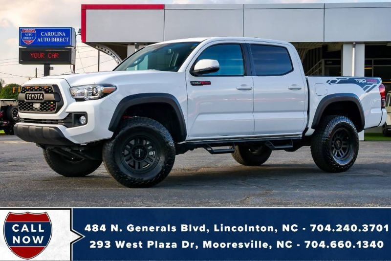 2019 Toyota Tacoma 4X4 TRD Off-Road *LIFTED* w/ Heated Front Seats, Vision Wheels & NAV Mooresville NC