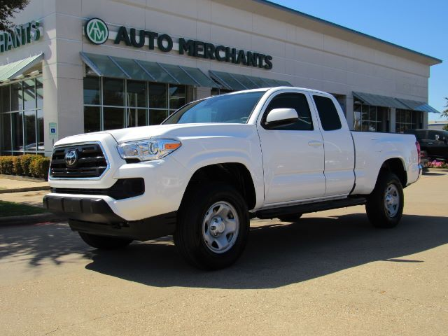 2019 Toyota Tacoma SR5 Access Cab V6 6AT 2WD CLOTH, BACKUP CAM, BED LINER, BLUETOOTH, CLIMATE CONTROL, UNDER WARRANTY Plano TX