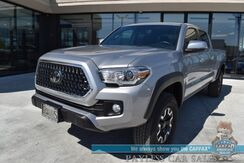 2019_Toyota_Tacoma_TRD Off Road / 4X4 / Double Cab / 6' Bed / Heated Seats / Navigation / Lane Departure & Adaptive Cruise / Bluetooth / Back Up Camera / Bed Liner / Tow Pkg / 22 MPG / Only 13k Miles / 1-Owner_ Anchorage AK