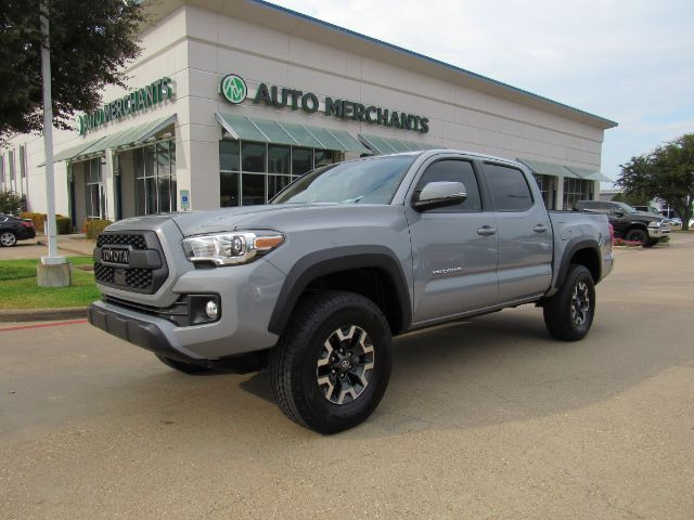 2019 Toyota Tacoma TRD Off Road Double Cab V6 6AT 2WD CLOTH, NAVIGATION, BACKUP CAM, LANE DEPARTURE, UNDER WARRANTY Plano TX