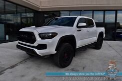 2019_Toyota_Tacoma_TRD Pro / 4X4 / Automatic / Heated Leather Seats / JBL Speakers / Sunroof / Navigation / Lane Departure & Blind Spot Alert / Snorkel / Bed Liner / Tow Pkg / Only 26k Miles / 1-Owner_ Anchorage AK