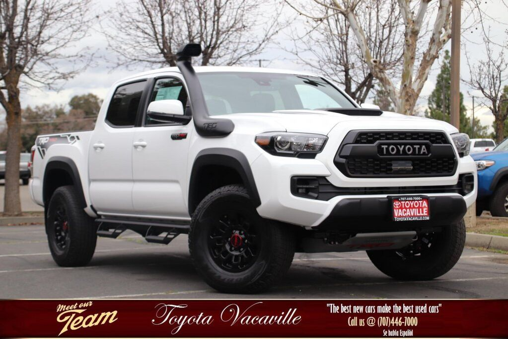 2019 Toyota Tacoma Trd Pro Double Cab Vacaville Ca