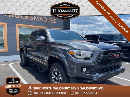 2019_Toyota_Tacoma_TRD Sport 4WD/V6 ** Pohanka Certified 10 Year / 100,000  **_ Salisbury MD
