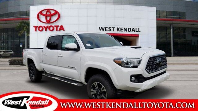 2019 toyota tacoma trd sport for sale west kendall toyota in miami skuwt10156. Black Bedroom Furniture Sets. Home Design Ideas
