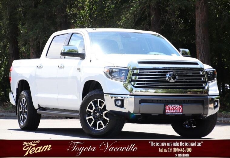 2019 Toyota Tundra 1794 Edition CrewMax Vacaville CA