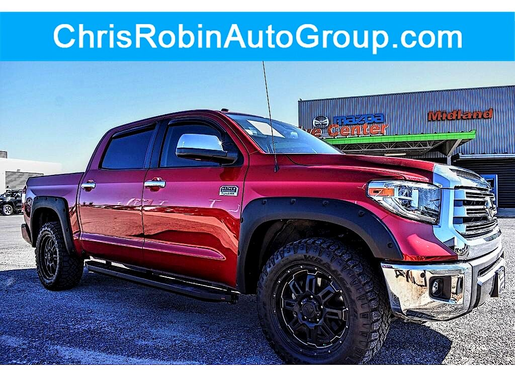 2019 Toyota Tundra 4WD 1794 Edition CrewMax 5.5' Bed Midland TX
