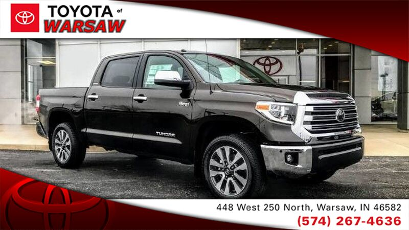 New 2019 Toyota Tundra 4wd Limited In Warsaw In