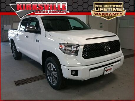 2019_Toyota_Tundra 4WD_Platinum CrewMax 5.5' Bed 5.7L_ Kirksville MO