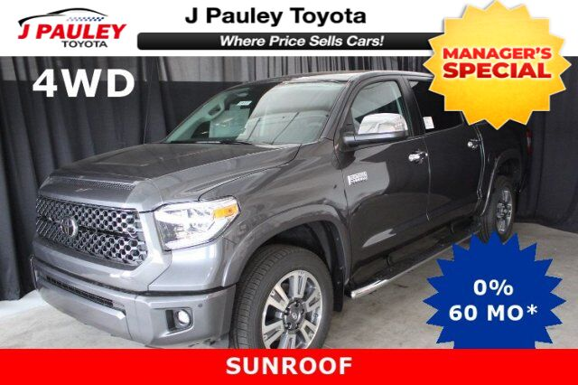 2019 toyota tundra 4wd platinum fort smith ar 25946439. Black Bedroom Furniture Sets. Home Design Ideas