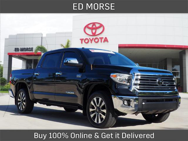 2019 Toyota Tundra Limited CrewMax Delray Beach FL