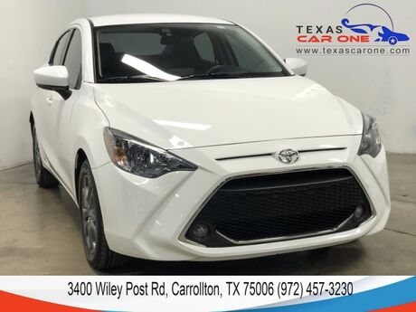 2019 Toyota Yaris SEDAN LE REAR CAMERA BLUETOOTH KEYLESS START STEERING WHEEL CONT Carrollton TX