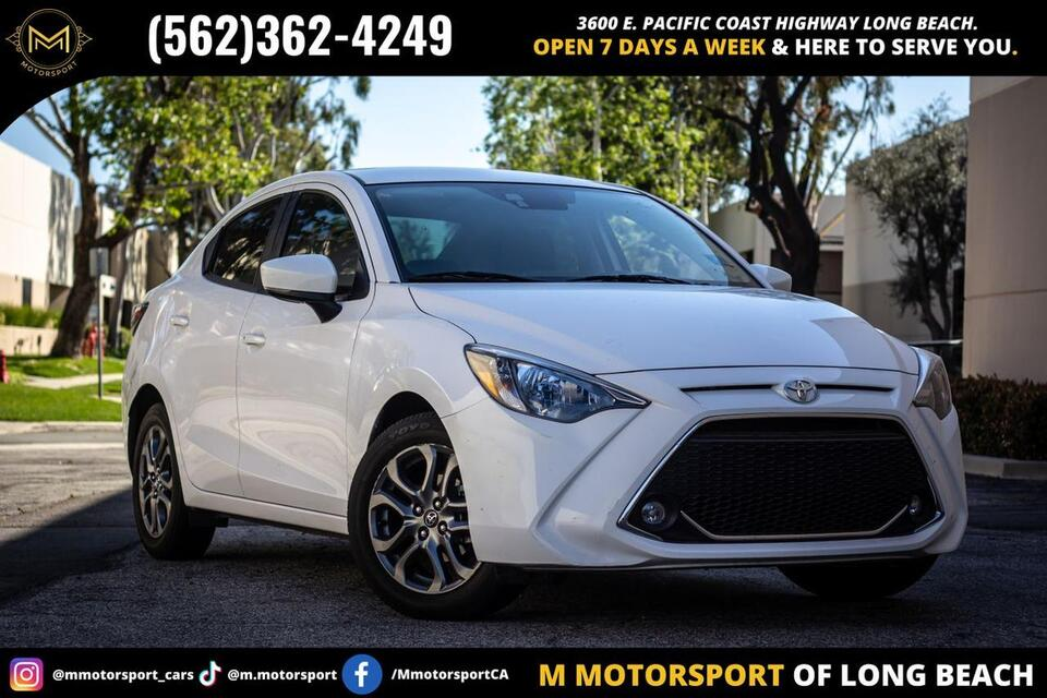 2019_Toyota_Yaris_XLE Sedan 4D_ Long Beach CA
