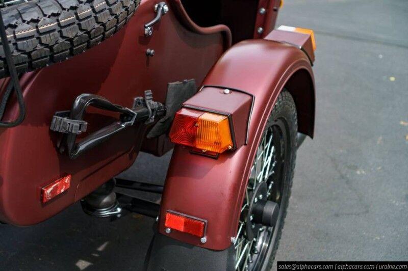 2019 Ural Gear Up Burgundy Satin Boxborough MA
