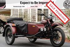 2019 Ural Gear Up Burgundy Satin