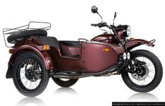 2019 Ural Gear Up Burgundy Satin