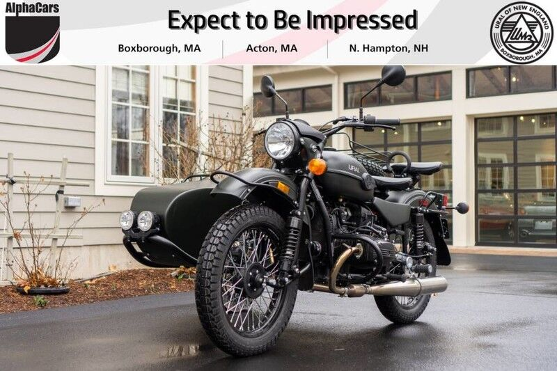 2019 Ural Gear Up Forest Fog Boxborough MA