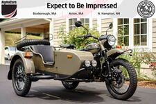 2019 Ural Gear Up Olive Gloss